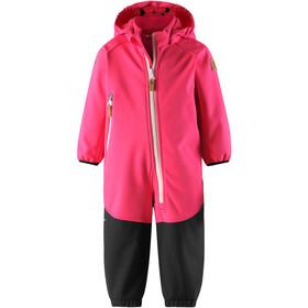Reima Mjosa Softshell Overall Girls Candy Pink